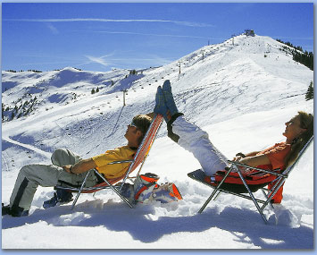 Salzburg/Leogang/Appartement/Ferienwohnung/Bauernhof/Scheiber/Untermadreit/Winterurlaub/Sonne